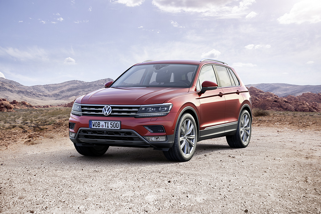 Volkswagen Tiguan new in town