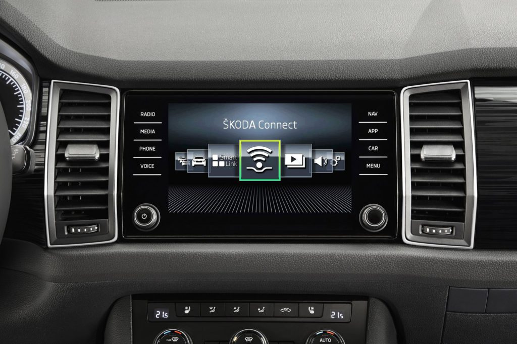 škoda kodiaq connect