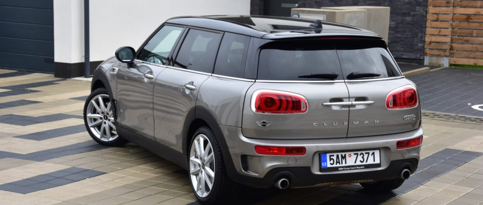 mini clubman s all4